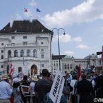Fotos aus dem Marsch